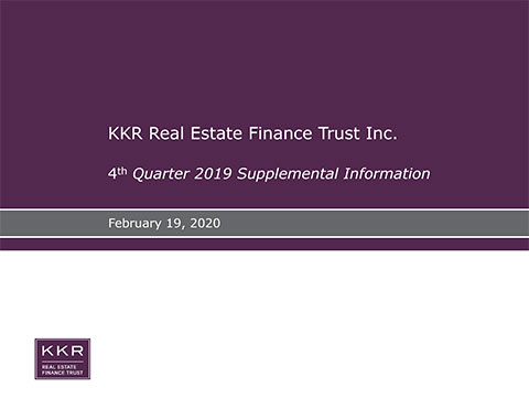 KREF 4Q19 Supplemental Presentation