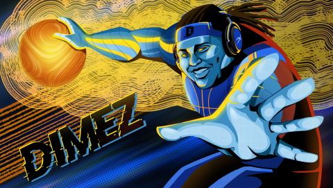 "NBA 2K League professional gamer Artreyo ""Dimez"" Boyd - HyperX Heroes ambassador (Graphic: Business Wire)"