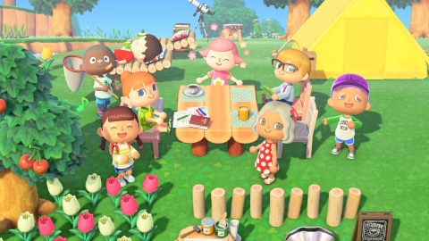 In Animal Crossing: New Horizons, up to eight people can live on one island. In Party Play, you can call up to three other players to explore the island at the same time. Whoever calls the others will be the Leader, making the others the Followers. It's easy to change out the Leader, letting others quickly take charge. (Photo: Business Wire)
