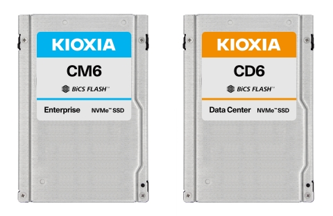 キオクシア株式会社:PCIe(R) 4.0対応エンタープライズ/データセンター向けSSD (写真:ビジネスワイヤ)