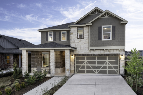 New KB homes now available in Austin. (Photo: Business Wire)