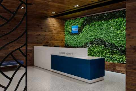 The Centurion Lounge at Charlotte Douglas International Airport (Photo: Business Wire)
