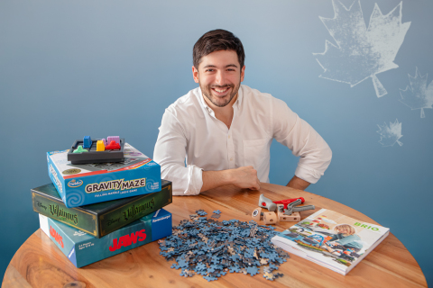Stephane Madi, Head of Ravensburger Canada (Photo: Business Wire)