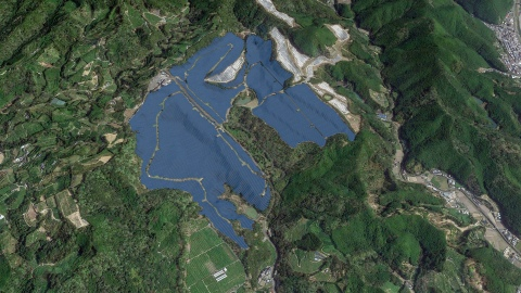 Wakayama Solar Power Plant Completion Image (Graphic: Business Wire)