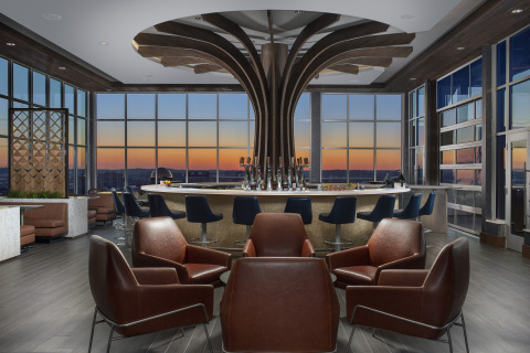 Rooftop Bar View from recently opened Embassy Suites by Hilton Knoxville Downtown (Photo: Hilton)