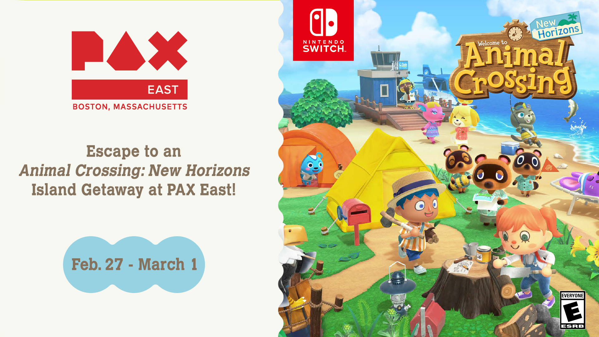 Escape To An Animal Crossing New Horizons Island Getaway At Pax