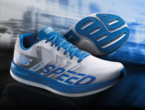 "Skechers GO RUN Razor 3 Hyper named ""Editors' Choice"" by Runner's World in March/April 2020 cover story. (Photo: Business Wire)"