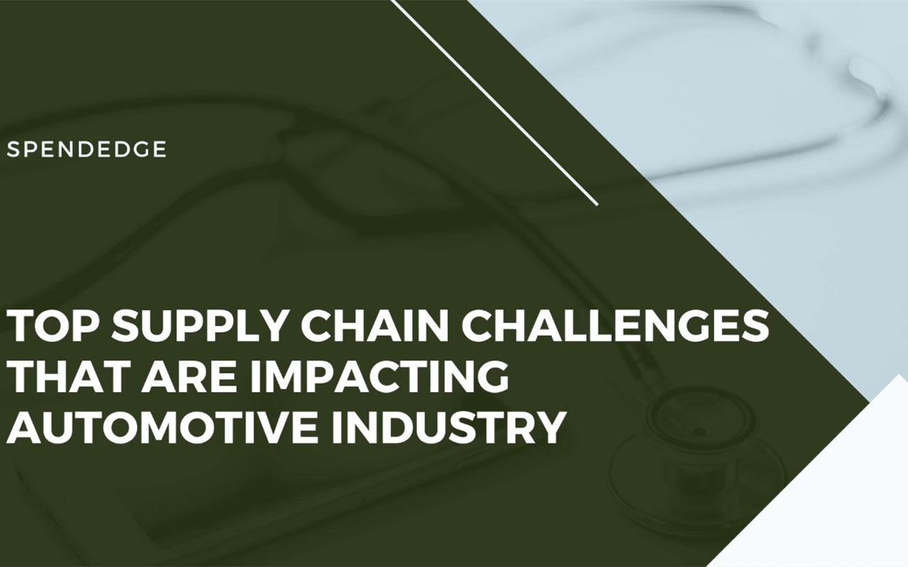 Top Supply Chain Challenges that are Impacting Automotive Industry. (Graphic: Business Wire)