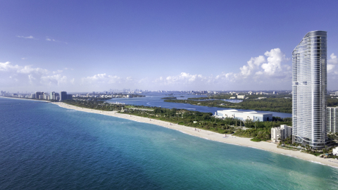 The Ritz-Carlton Residences, Sunny Isles Beach, South Florida's most elegant address, has received its temporary certificate of occupancy (TCO), signaling the start of closings for the oceanfront tower. (Photo: Business Wire)