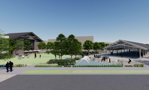 Artist's Rendering of the Watersound Origins Town Center (Photo: Business Wire)