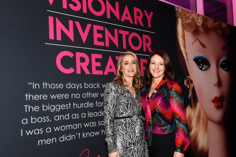 Janice Ross, President of WIT, and Amy Thompson, Chief People Officer of Mattel (Photo: Business Wire)