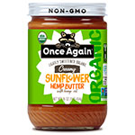 Once Again Launches Sunflower Hemp Butter at Expo West