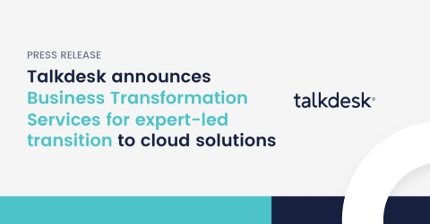 Talkdesk 20-in-20 program introduces product #4 of 20, a new service offering backed by Talkdesk's white-glove approach and expertise in driving customer experience strategies, enablement and success for global enterprises (Graphic: Business Wire)