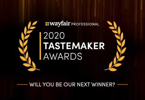 Wayfair Professional Launches 5th Annual Tastemaker Awards with Industry-Leading Judges and New Categories. (Graphic: Business Wire)