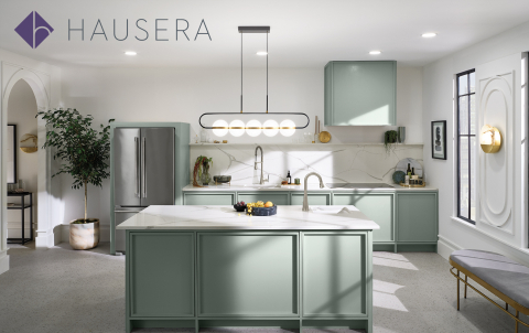 With deep kitchen & bath product expertise, Hausera provides a tailored and curated shopping experience that helps homeowners and design pros find the perfect products for bringing their design inspirations to life. (Photo: Business Wire)
