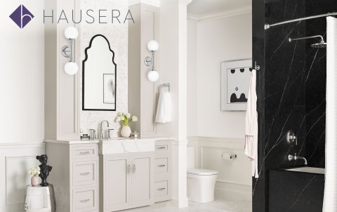 Hausera offers a broad selection of kitchen & bath products with options for every style and budget, and features top brands such as Kohler, Kallista, Delta, Moen, Brizo, Hansgrohe, Grohe, Newport Brass and Rohl. (Photo: Business Wire)