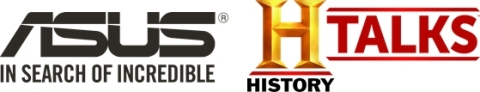 ASUS is the exclusive technology partner for HISTORYTalks: Leadership & Legacy. (Graphic: Business Wire)