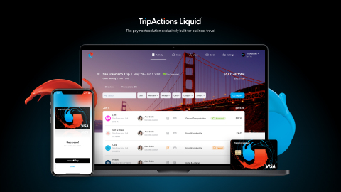 TripActions Liquid is the first-of-its-kind, end-to-end global corporate travel management + payments solution (Photo: TripActions)