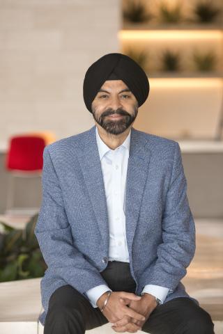 Ajay Banga (Photo: Business Wire)