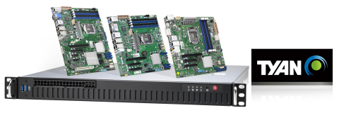 TYAN's Tempest EX motherboards to address data analytics in mixed-criticality environments with compact size, scalability, and ease of deployment. (Photo: Business Wire)