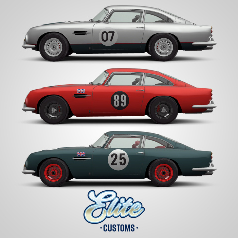 Zynga's CSR Racing 2 Launches New Personalization Feature, Elite Customs (Graphic: Business Wire)