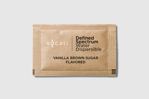 Socati Single Serve CBD-Infused Products for Coffee & Hot Beverages (Photo: Business Wire)