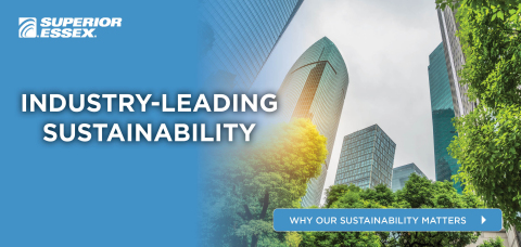 Our industry-leading cabling solutions provide unparalleled quality while minimizing environmental impact – setting the industry benchmark for product sustainability in telecommunications. (Photo: Business Wire)