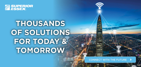 5G and Broadband technologies are already revolutionizing communications as we know it, and in the very near future, how our smart devices wirelessly communicate with each other will be drastically different. And what's quietly powering and enabling this evolution in data and communications are pioneering cable technologies from Superior Essex. (Photo: Business Wire)