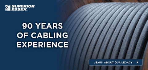 Since 1930, we have built our reputation upon designing and manufacturing the reliable, sustainable, futureproof cables that connect Everywhere You Live and Work. And for the next 90 years, we intend to continue doing just that – innovating and connecting the future of communications. (Photo: Business Wire)