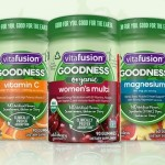 "Introducing vitafusion™ GOODNESS™ Supplements, ""Good for You & Good for the Earth"""