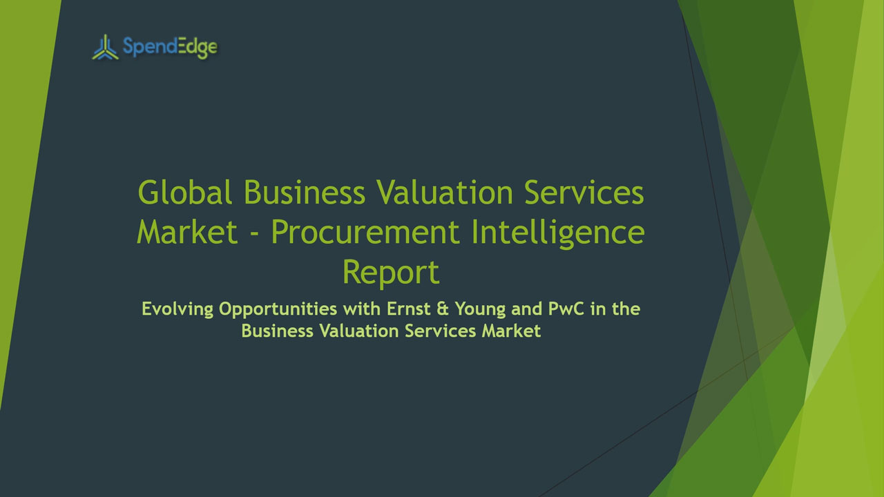 SpendEdge, a global procurement market intelligence firm, has announced the release of its Global Business Valuation Services Market Procurement Intelligence Report.