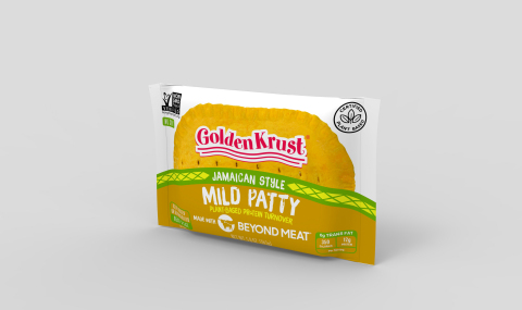 Golden Krust Plant-Based Mild made with Beyond Meat Individual - available to ship on June 1, 2020. (Photo: Business Wire)