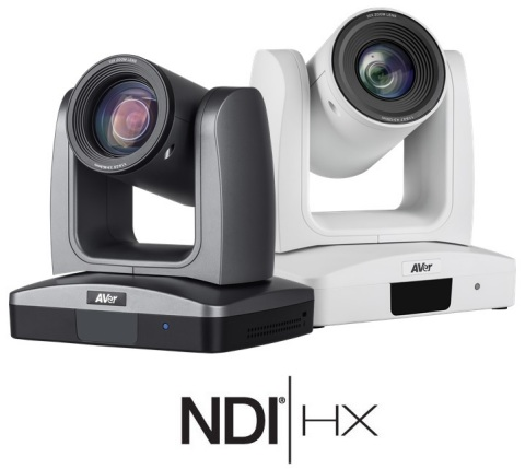 AVer PTZ310N and PTZ330N NDI Professional PTZ Live Streaming Cameras
