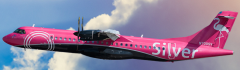 Silver Airways starting service with new ATR 72-600 aircraft between Charleston and three favorite Florida gateways: Orlando, Fort Lauderdale and Tampa (Photo: Business Wire)