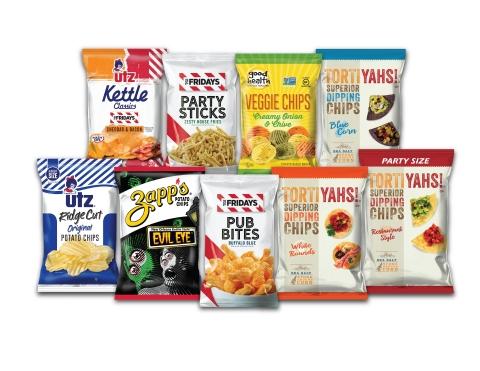 New snack foods from Utz! Source: Utz Quality Foods, LLC