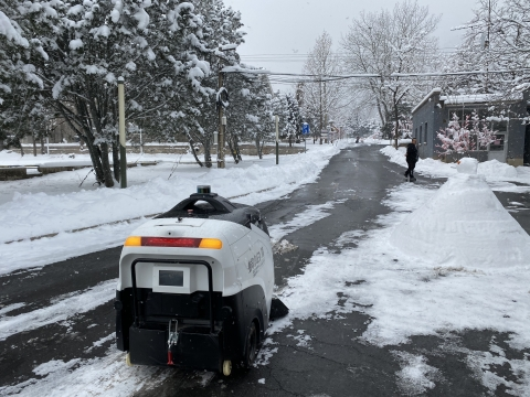Idriverplus will use Velodyne lidar sensors in mass production of its commercial autonomous vehicles, including street cleaners, passenger cars and logistics vehicles. (Photo: Idriverplus)