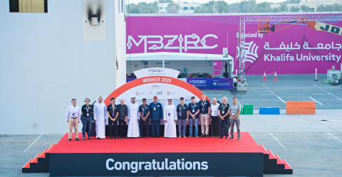 Czech Technical-UPenn-NYU Team Wins Grand Challenge in US$5-Million MBZIRC2020 organized by Khalifa University (Photo: AETOSWire)