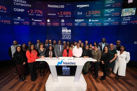 NBMBAA celebrates Black History Month at Nasdaq (Photography by Libby Greene/Nasdaq, Inc.)