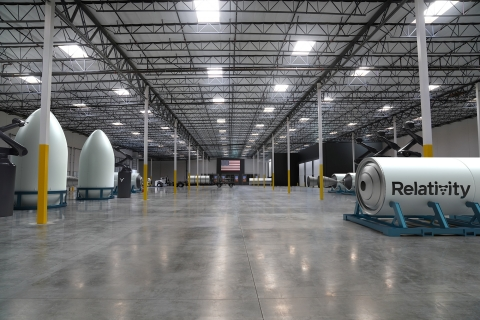 Rendering of Relativity's autonomous rocket factory in Long Beach, CA. (Photo: Business Wire)