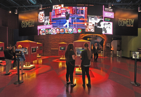 The National Comedy Center in Jamestown, New York has been named the Best New Museum in the country by USA Today. (Photo: Business Wire)
