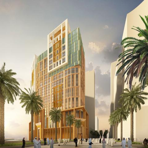 Exterior view of Grand Hyatt Makkah (Photo: Business Wire)