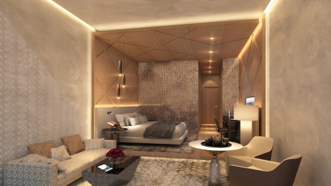 Guestroom at Grand Hyatt Makkah (Photo: Business Wire)