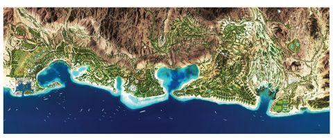 AMAALA Triple Bay Master Plan (Photo: AETOSWire)