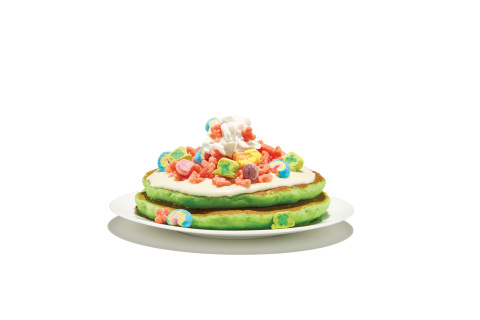 Exclusively on St. Patrick's Day, March 17 from 7 a.m. to 7 p.m. dine-in only, IHOP is making the luckiest day of the year even luckier with $1 St. Paddy's Day Cakes. (Photo: Business Wire)