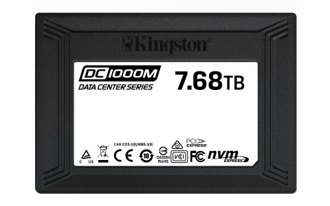 DC1000M - Kingston's new U.2 data center NVMe PCIe SSD (Photo: Business Wire)