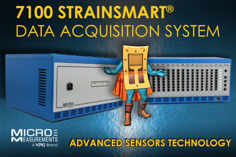System 7100 StrainSmart data acquisition system | Micro-Measurements (Graphic: Business Wire)