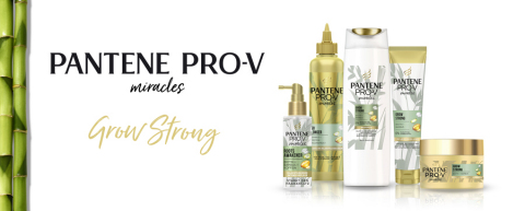 Pantene Pro-V Miracles Grow Strong Pflegeserie (Graphic: Business Wire)