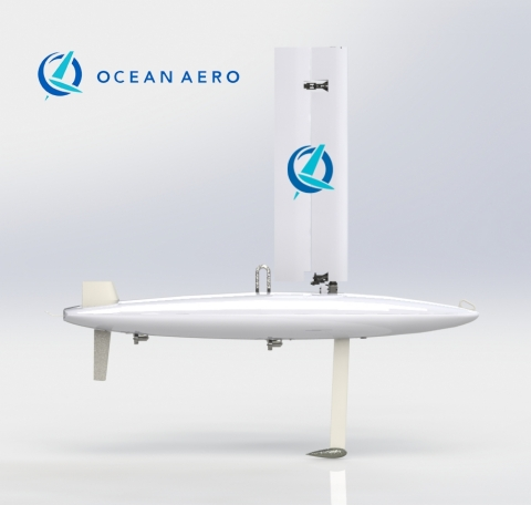 Ocean Aero to Deliver a Fleet of Intelligent Autonomous Marine Vehicles for DHS S&T Program (Graphic: Business Wire)
