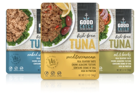 Bumble Bee Foods announces joint distribution venture with plant-based seafood brand Good Catch. Bumble Bee is the first and only major seafood company to partner with a plant-based seafood brand. (Photo: Business Wire)