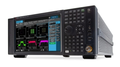 The Keysight N9021B MXA X-Series Signal Analyzer provides design validation and manufacturing engineers with superior phase noise performance at higher frequencies, and includes software that improves workflows while meeting 3GPP 5G new radio (NR) compliance standards. (Photo: Business Wire)